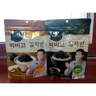 現貨 韓國食品 CJ Bibigo 必品閣 海苔鬆 海苔酥 醬油 奶油 50g 大包