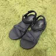 SKECHERS Arch Fit 運動型涼鞋 厚底 休閒 舒適 女鞋 黑色 140251BBK