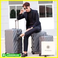 กระเป๋าเดินทาง ร้านแนะนำ[สินค้าขายดี!!] กระเป๋าเดินทางรุ่น 6017 ขนาด 20/24/28 นิ้ว ทนทาน กุญแจล๊อกTSA