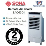 ★ Sona SAC6301 Remote Air Cooler ★ (2 Years Singapore Warranty on Motor)