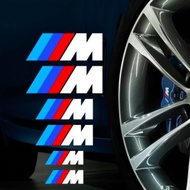 現貨(毅歐進口貿易)BMW卡鉗 M標字貼 進口反光貼紙 煞車卡鉗貼 隨意貼 輪框貼 鋼圈 水轉印車貼 鋁圈貼紙 避震