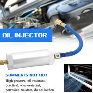 R12 R134A R22製冷空調汽車油加註筒冷凍油補充筒冷媒油加註器2盎司1/4SAE