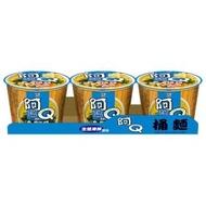 【阿Q桶麵】生猛海鮮風味3入/組