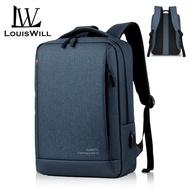LouisWill กระเป๋าสะพายหลัง กระเป๋าใส่โน๊ตบุ๊ค กระเป๋าเป้เดินทาง กระเป๋าเป้ลำลอง สไตล์เกาหลี กระเป๋าเป้ กระเป๋านักเรียน แฟชั่น กระเป๋าเป้สะพายหลัง กระเป๋าเป้เดินทาง
