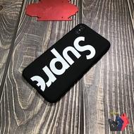 Case Apple Supreme สีดำ/สีแดง เคสสุพรีม เคสยางTPU งานTPU สกีน3D For IPhone I7P/I8P/IX/XS/XR/XsMax/11/11Pro/11ProMax