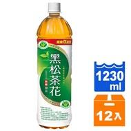 【免運】黑松 茶花綠茶 無糖 1230ml (12入)/箱