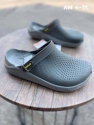 รองเท้า crocs รองเท้าแตะเพื่อสุขภาพ รองเท้าหัวโต ใส่นุ่ม ใส่สบายเท้า รองเท้าผู้หญิง รองเท้าผู้ชาย