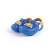 FILA 兒童電燈園丁涼鞋/拖鞋S451U-399藍橙(15~20cm)