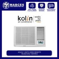 Kolin 1HP Remote Window Type Non Inverter Aircon KAG-100HRE4