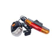 自行車五合一方向燈組-紅光 [05300201]【飛輪單車】