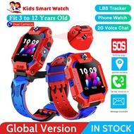 兒童Smartwatch雙攝像頭SIM卡電話手錶