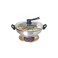 nice 1EUROPACE 4.0L Electric Steamboat with BBQ Grill-ESB 7421Sdl