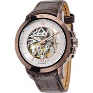 ★MASERATI WATCH★-瑪莎拉蒂手錶-紳士咖啡金機械錶-R8821119003-錶現精品公司-原廠正貨-
