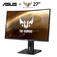 【27型曲電競】ASUS TUF GAMING VG27VQ VA曲面電競螢幕/1920x1080/165Hz