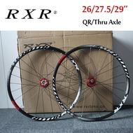 RXR 26 27.5 29 inch 7-11 Speed Wheelsets Mountain Bike aluminum Wheel sets Front Rear Rim Wheelsets Fit Shimano SRAM Cassette