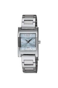 CASIO นาฬิกาผู้หญิง lady สายสแตนเลส รุ่น LTP-1283D-2ADF - Silver