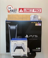 [WEEKEND SALE] Playstation 5 Digital Console + Extra Controller - 15 Months Warranty from Sony Singapore (Ready Stock PS5)
