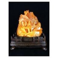【天鼎聚寶】 ---你也瘋狂《金田黃》嗎? 專售原礦、毛料(結晶、帶白皮),歡迎洽談。