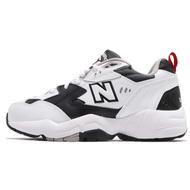 New Balance 慢跑鞋 NB 608 白 黑 男鞋 女鞋 IU 李知恩 韓系 WX608RB1 D 【ACS】