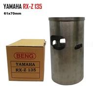 Yamaha RX-Z 135 RXZ135 RXZ 61x70mm Cylinder Liner Sleeve Sarung Racing Motorcycle Motosikal Engine Blok Block Piston
