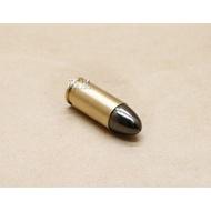 < WLder > 貝瑞塔 9mm 裝飾彈 黑頭 (M9 M92 915操作槍道具槍火藥槍仿真槍道具彈空包彈金牛座彈殼彈頭90子彈GLOCK