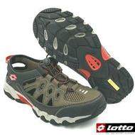 【MEI LAN】LOTTO 探險者 山水車三棲鞋 溯溪鞋 排水 透氣 耐磨 止滑 6073咖 另有藍色 原價:1390