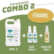 [READY STOCK] Cleanse360 Liquid Spray Type Hand Sanitizer 5L Quick Dry  75% Alcohol