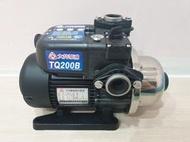 【優質五金】大井TQ200B*1/4HP電子穩壓加壓馬達*加壓機*低噪音 新款抗菌環保 非舊款TQ200