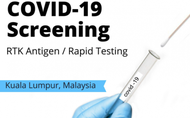 COVID-19 Screening by Malaysia Liew Clinic: RTK Antigen or RT-PCR Test