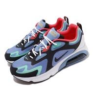 【NIKE 耐吉】休閒鞋 Air Max 200 運動 男鞋 氣墊 避震 復古 球鞋 穿搭 舒適 藍 黑(AQ2568-401)