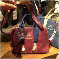 Mis Zapatos Japan  Embroidered Messenger Bag