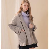 【CUMAR】經典時尚短版大衣-外套(兩色/版型適中)