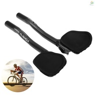 【ECOG】31.8mm Carbon Fiber Bicycle TT Handlebar Cycling Aero Bars Rest Handlebar Bike Tri Bars