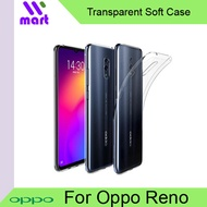TPU Transparent Soft Case for Oppo Reno