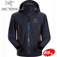 【台灣黑熊】加拿大 ARC'TERYX 始祖鳥 Beta AR Jacket 男款 防水外套 透氣防水外套 風雨衣 GORE-TEX 12701 海軍上將藍
