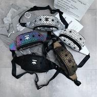 adidas issey miyake clover chest bag waist bag shoulder pack side backpack