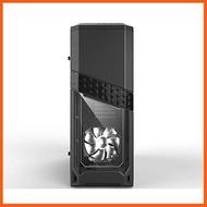 Best Quality Azza Titan 240 Mid-Tower Computer Gaming Case Black (CSAZ-240 Titan) การ์ดจอ