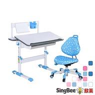 出清特賣【SingBee欣美】巧學桌+137巧學椅-兒童 成長 學習 MIT 台灣製 升降桌 課桌椅
