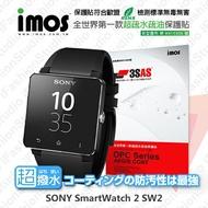 【愛瘋潮】99免運 Sony SmartWatch 2 / SW2 iMOS 3SAS 防潑水 防指紋 疏油疏水 保護貼
