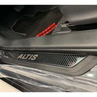 Altis12代 carbon迎賓踏板