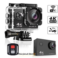 4K Ultra HD Go Pro Action Camera Sport Camcorder Waterproof DVR 1080P/4K WiFi Remote GoPro
