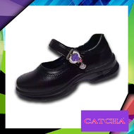 CATCHA รองเท้านักเรียน รองเท้านักเรียน CATCHA รองเท้านักเรียนสีดำเด็กผู้หญิง รองเท้านักเรียนเด้กผู้หญิง รองเท้าคัชชูเด็กผู้หญิง รุ่น CX03