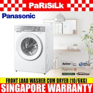 Panasonic NA-S106G1WSG Front Load Washer (10kg) cum Dryer (6kg) - 1 year Warranty