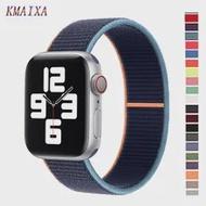 Strap For Apple watch band 44mm 40mm iWatch 38mm 42mm watchband Nylon Loop bracelet correa Apple watch series 6 SE 5 4 3 44 40mm