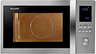Sharp R-92A0(ST) V Microwave Oven with Convection