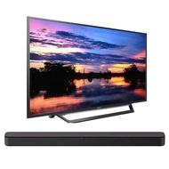 Sony KDL32W600D 32-Inch HD Smart TV w/Soundbar Bundles (S100F Bundle)