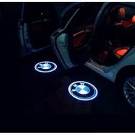 寶馬BMN車標logo鐳射投影迎賓燈免拆改 裝飾板開門led燈汽車用品