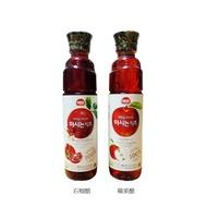 森吉小舖 現貨 韓國SAJO 海牌 果醋 500ml 石榴醋 蘋果醋 水果醋