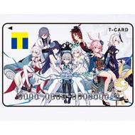 【日本 崩壞3rd T-CARD 收藏卡】崩壞學園 崩壊3rd 崩崩崩 崩3 崩壞 T卡 T Card 快樂購 珍藏卡