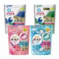 日本 P&G 3D立體洗衣膠球 18顆入/補充包 三種洗劑 洗衣果凍球 洗衣凝膠球 除臭 抗菌 洗衣球 洗衣 清潔 寶僑【B063018】
